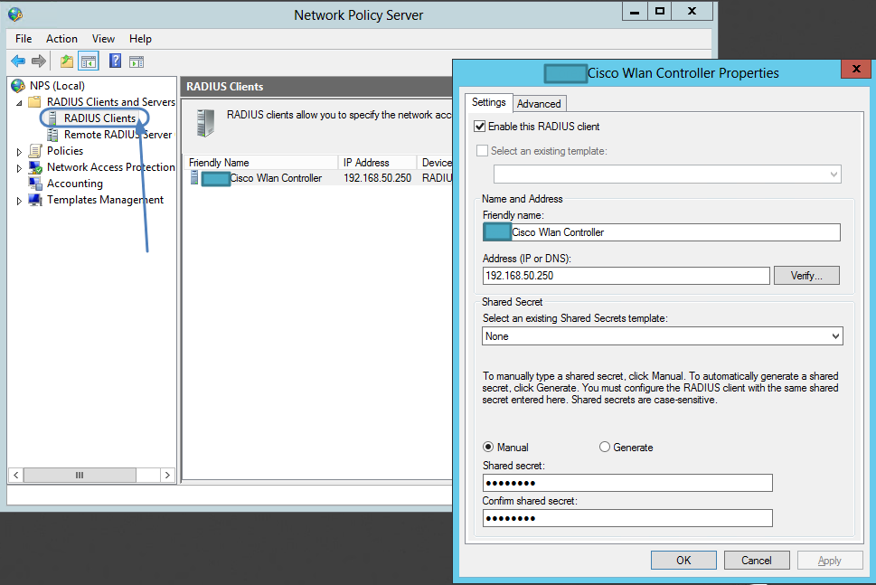 Configuring NPS on Server 2012 with Cisco WLC: Part 1 | FatDex
